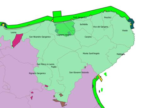 Geodatabse Gal Gargano